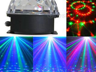 LED Music Ball Дискотека у себя дома или в баре! Дешего и эффектно! Супер цена!
