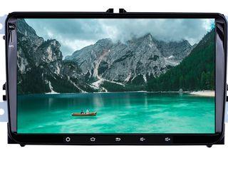 Продам 9 дьюмовый автомобильный мультимедийный плеер DVD, GPS, Android 7.1.1 для VW/Skoda /Seat/Leon