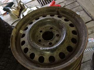 Диски железные R15 5х112