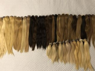 Хвосты из натуральных волос