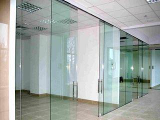 Pereti din sticlă călită