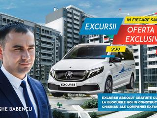Excursii gratuite la complexele companiei de construcții Exfactor Grup.