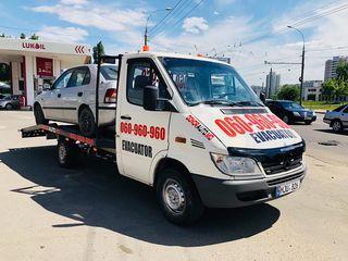 Эвакуаторы Эвакуация автотранспорта и спецтехники в Кишинёве и по всей Молдове