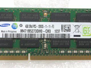 Samsung m471b5273dho-cko 4GB DDR3 1280/1600 MHz 204pin для ноутбука 400 lei