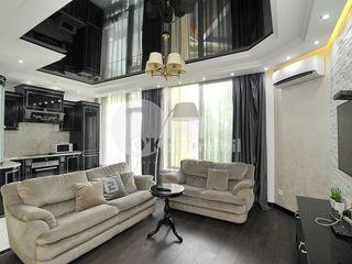 Apartament de lux, 2 dormitoare, reparație euro, Centru, 1100 € !