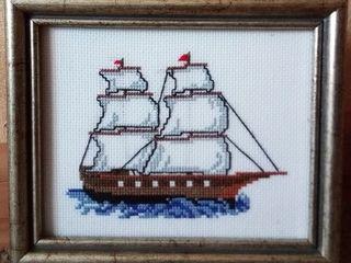 """""""Кораблик"""" - вышивка"""