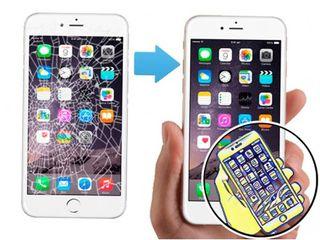 Shimbarea sticlei la iPhone, Samsung, Xiaomi. Garantie.