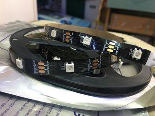 Адресная RGB лента! IC LED strip! Banda LED adresabila!