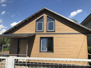 Построим быстро современный дом на 54 кв.м. Строим дома из СИП панелей.