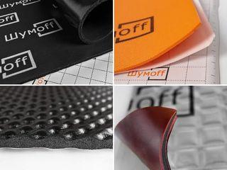 Шумоизоляция авто, материалы Шумoff / Materiale pentru izolarea fonica