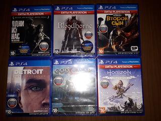Playstation 4 диски новые Эксклюзивы