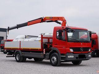 Услуги манипулятора от 2 тонн до 15 тонн по Молдове .