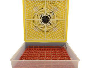 ИнкубаторMS-63с автоматическим переворотом яиц/p/u 63 oua rata/gisca/gaina/252 oua de prepelita/2399