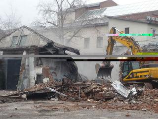Погрузчик-экскаватор КамАЗ услуги снос домов строений очистка участков бетоновырубка резка бетона