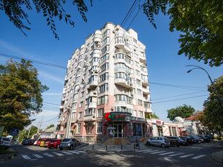 Apartament str. Dosoftei: 2 dormitoare+living in bloc nou (vedere spre Preșidenție)