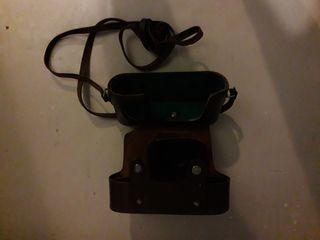 Футляр кожаный от фотоаппарата Зоркий-4.