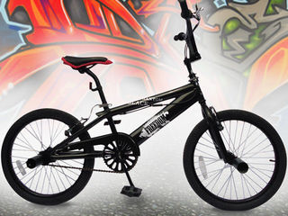 Black Phantom BMX.