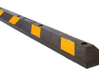 Opritor de protectie din cauciuc pentru parcari auto / Колесоотбойник из резины