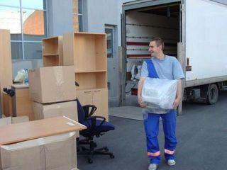 Transport de marfuri: Mutari oficii si locuinte,  Evacuare gunoi, Transportare material de const