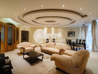 Chirie 4 camere, 180 mp, reparație euro/mobilat, Centru 1200 € !