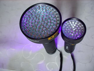 Фонарь ультрафиолет UV 100 LED для рыбалки
