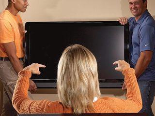 Навеска ТВ монтаж кронштейны ТВ установка телевизоров. продажа кронштейны ТВ. Instalarea TV.vinzare