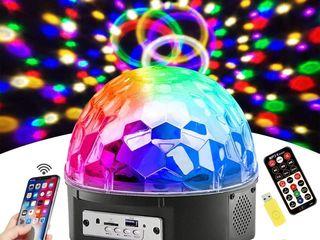 Cделай себе праздник с диско шаром led magic ball light !