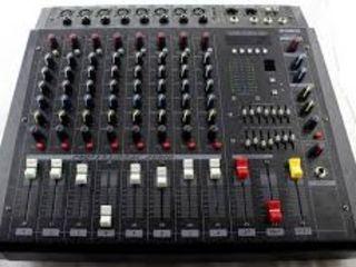 Mixer activ,, yamaha pmx-808d''cu usiliteli : -bluetooth, -flachca !!! mixer activ cu 8 canale
