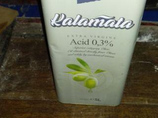 Ulei din măsline extra virgin 5 litre,  Calamata și Creta acid  3 %