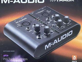 Недорого интерфейс m-audio plius