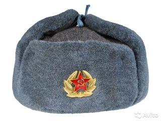Солдатская шапка ушанка