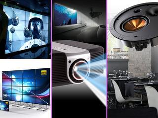 Проекторы и экраны. Аудио-визуальные системы
