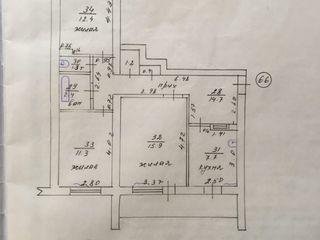 Продам 3-х комнатную квартиру в Тирасполе