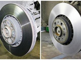 Проточка тормозных дисков от 250 лей пара, профилактика тормозных суппортов