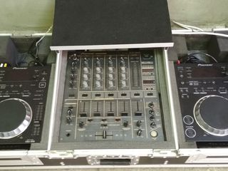 Pioneer cdj 350 + djm 600 + кейс (можно отдельно)
