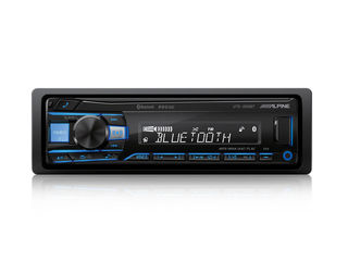 Alpine ute-200bt Flac/mp3/wma/acc/usb/aux/iPod/Bluetooth Plus 24-битный ЦАП