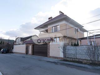 Casă 500 mp+6 ari, garaj și beci, euroreparație, Buiucani 545000 €