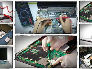Ajustarea, diagnostica, reparatia calculatoarelor si laptopurilor! garantie. +chemare la domiciliu