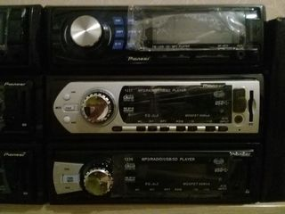 Автомагнитола новые распродажа 399 лей доставка 0 лей   USB .AUX  Radio Bluetooth  + евро фишка