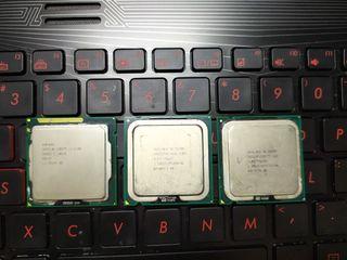 CPU intel i3 2100, Pentium E5200, E8400