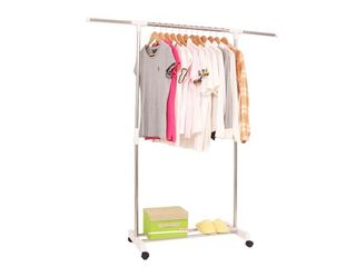 Универсальная передвижная вешалка для одежды