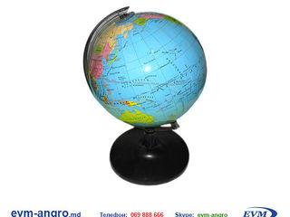 Глобус диаметром    8.5 см в блистере