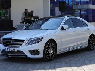 Oraganizam cortegiu de Mercedes la nunta, Masini w221 w222 negru/alb
