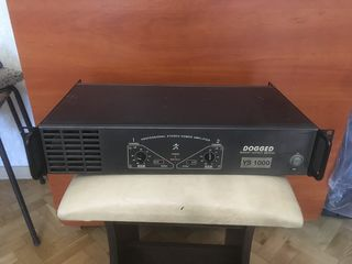 "Amplificator  ,, Dogget ""  1000 W         Made in UE   Urgent !!!"