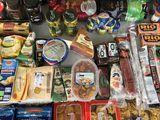 С италии и испании-продукты и напитки.доставка