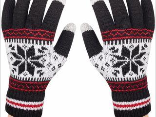 Тёплые перчатки для сенсорных экранов