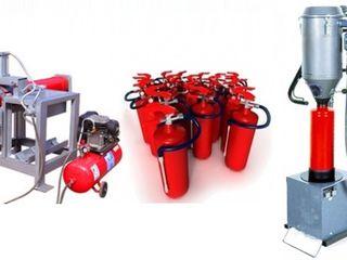 Перезарядка огнетушителей / incarcare, verificare stingatoare