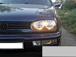 Супер Фары ангельские глазки тюнинг оптика VW golf 3 III гольф 3 тюнинг Golf 3
