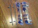 Новые мебельные ручки 6 штук отличного качества 18 см длинна