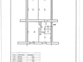 Apartament cu 3 odai or.Ungheni pret 28000 euro - pret negociabil, tel.060092192